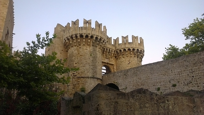 Rhodes - Turrets