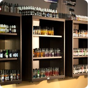 Images of Vapor Juice Store Displays To find out more about vape juice go to: fractaleliquid.com