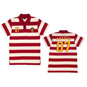 Harry Potter 07 Striped Polo