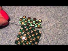 tutorial anello scacchiera - YouTube