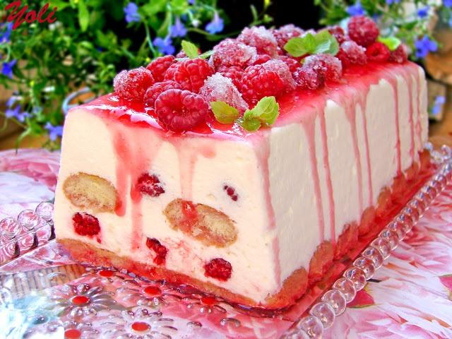 Raspberry Terrine