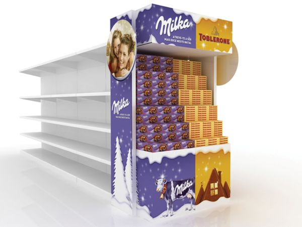 Point of Purchase Design | POP | POS | POSM | Retail Display | milka, toblerone