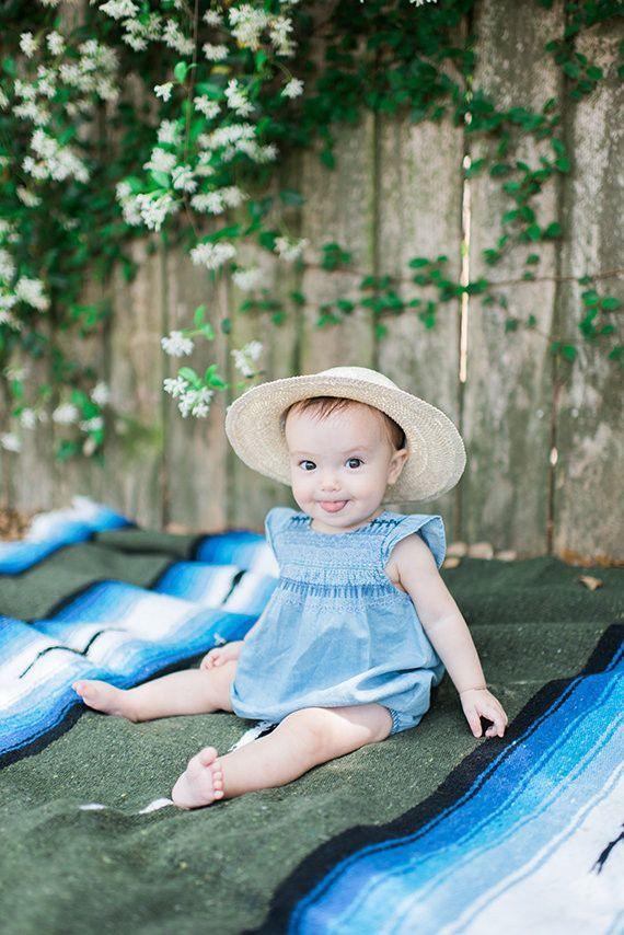 Baby girl portraits by Elisheva Golani