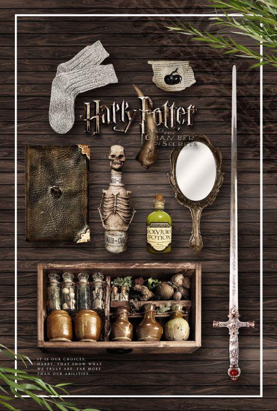 Harry Potter y la cámara de los secretos ⚡
