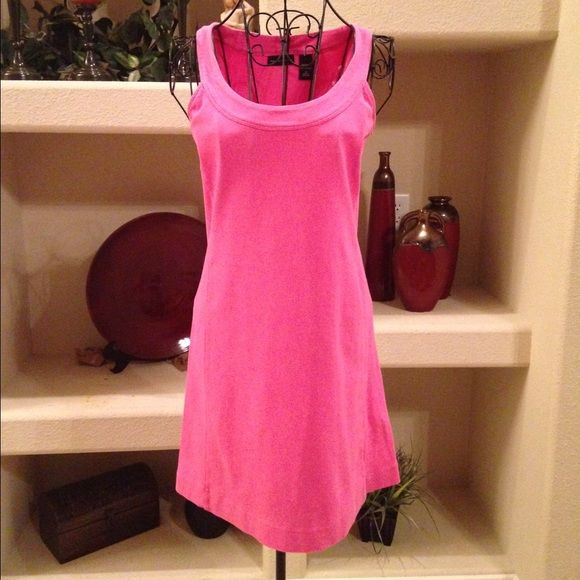 Pink dress New York & Co. Pink dress, casual and comfortable, 100% cotton New York & Company Dresses