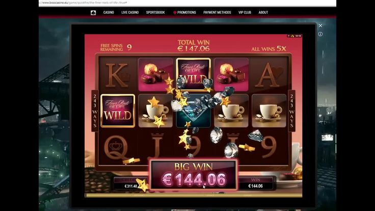 the finer reels of life microgaming big win. online casino. internet casino. Bosscasino. online slot big win