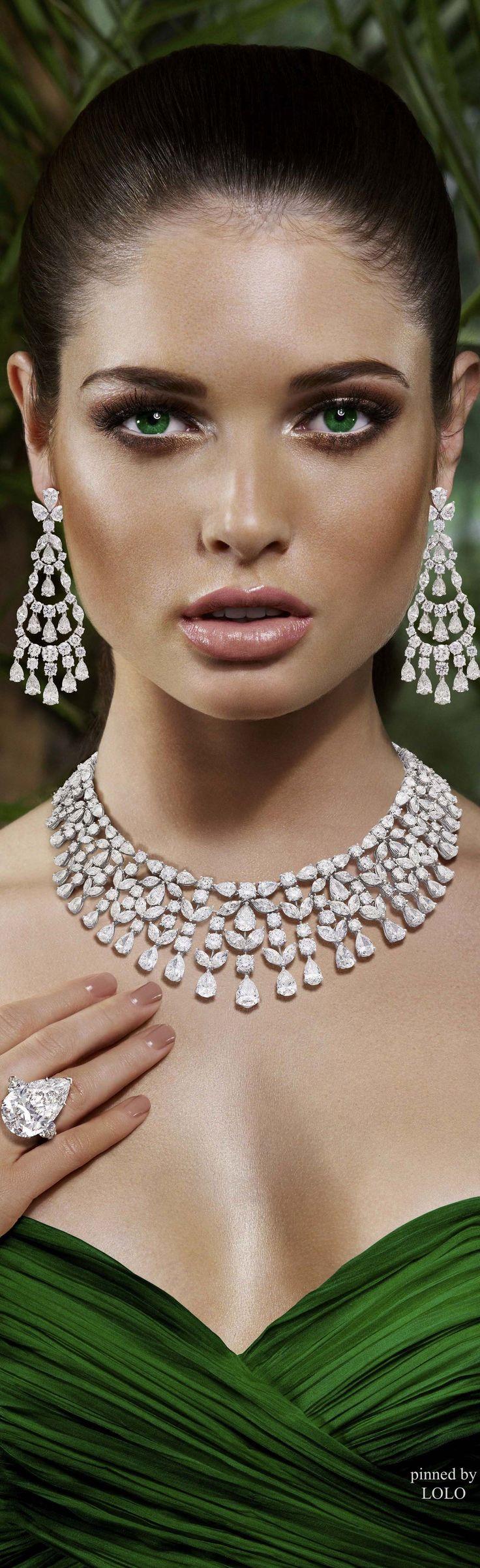 Graff Diamonds @}-,-;--is it true diamonds are a girl's best friend? Looks pretty good to me!