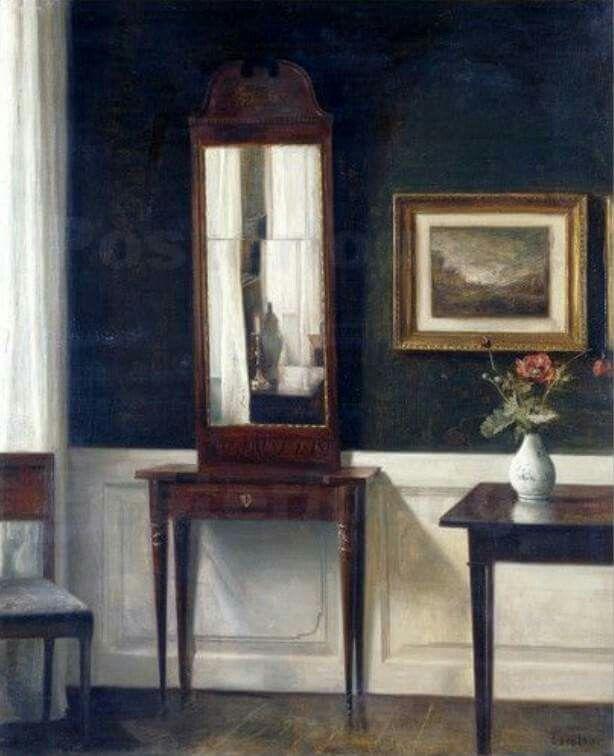 Carl Vilhelm Holsoe (1863-1935 Danish)