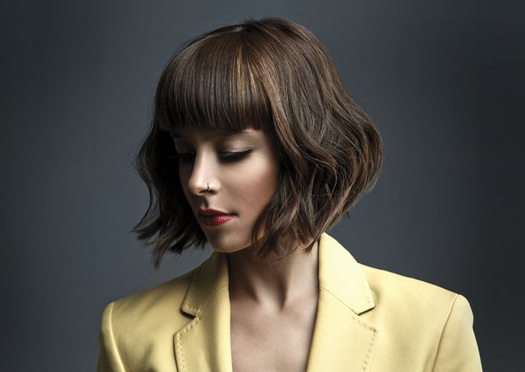 Awakening Collection F/W14-15 by Mob Salons #bob #hairstyle #undone