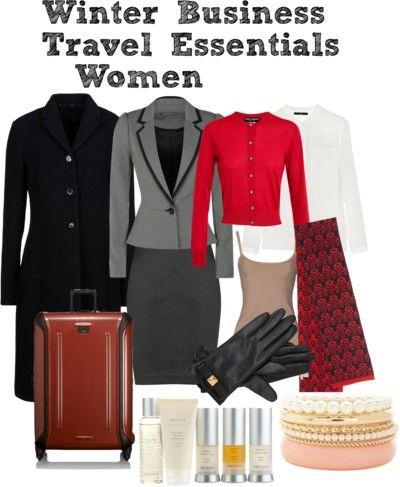 Winter Business Travel Essentials - Women