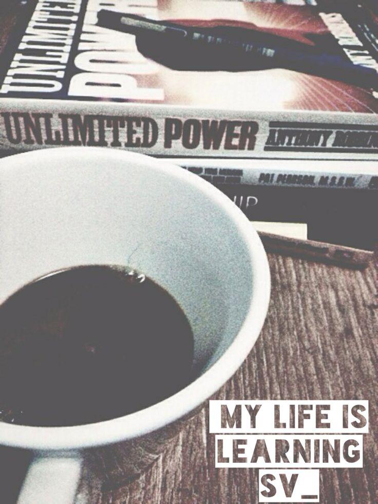 I love book and coffee