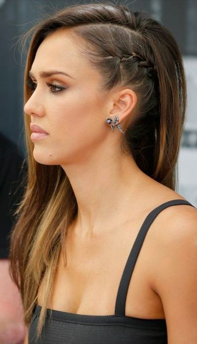 side braid hair styles oltre 25 fantastiche idee su acconciature laterali su 2055