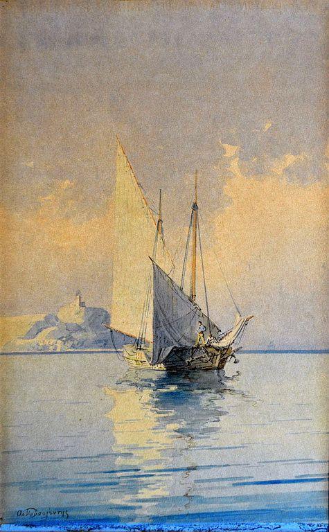 Emilios Prosalentis [Corfu 1859-Athens 1926]