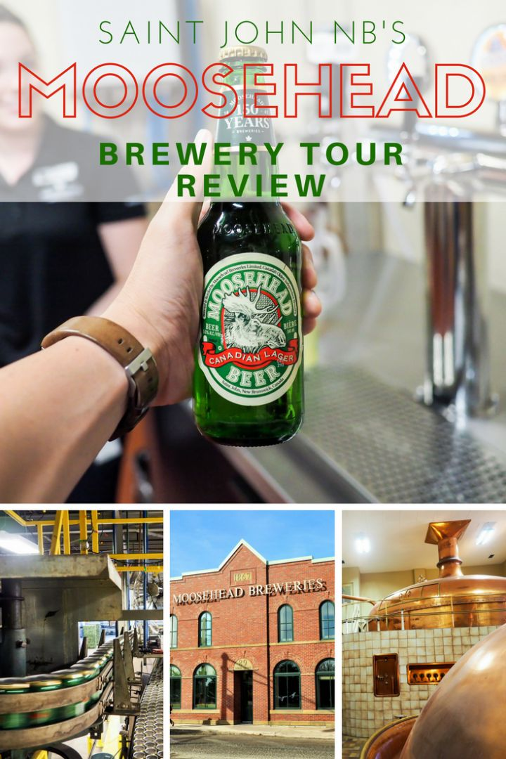 Moosehead Brewery Tour - Visiting a Brewery as old is Canada…sort of