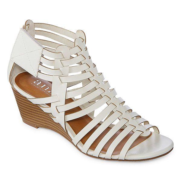 a.n.a Meadow Womens Wedge Sandals