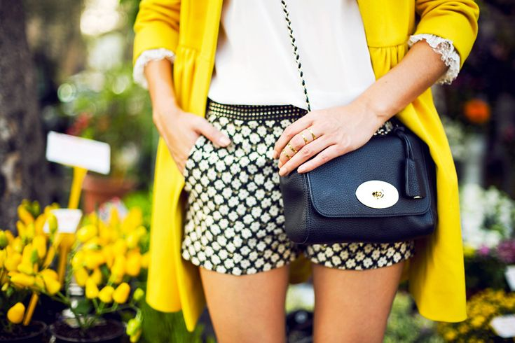 Red Valentino and Mulberry bag on Nicole Warne, photo by Carin Olsson