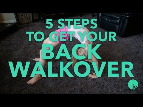 5 Steps to Get Your Back Walkover | Tumbling & Gymnastics Tips for Kids…