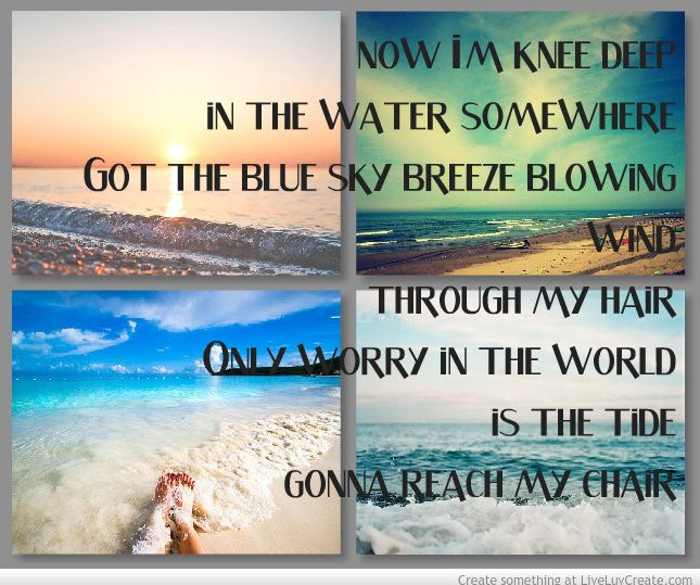 Knee Deep- Zac Brown Band