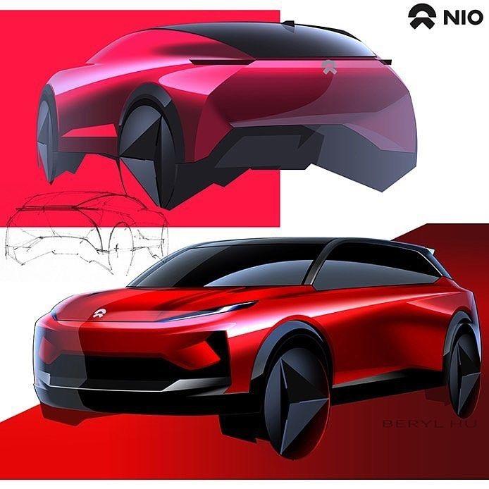 Sketch By Beryl Tracy Transportationdesign Cardesignworld Cardesignsketch Nio Sketch Future Concept Cars Car Design Sketch Car Design