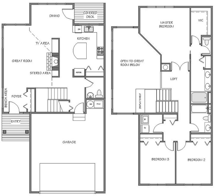 2 car garage townhome floor plans google search 8 for 8 car garage plans