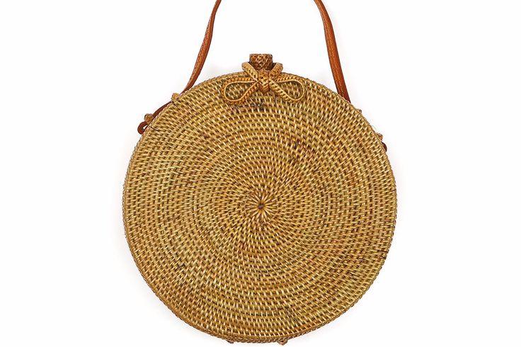 Balinese rattan large bag