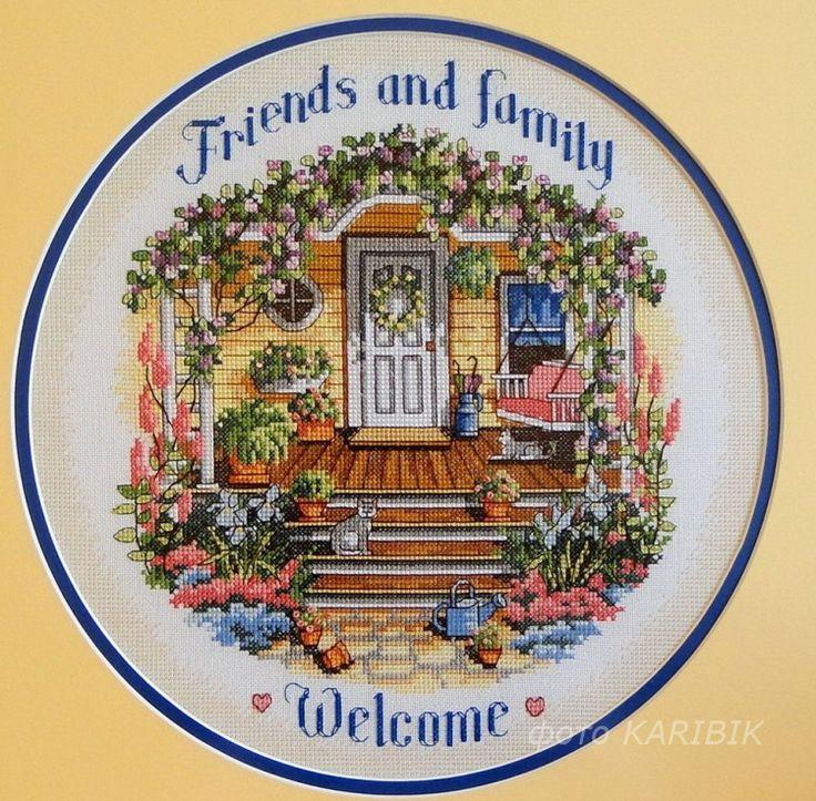 (111) Gallery.ru / Фото #1 - Dim-35025 Cozy Porch Welcome - karibik