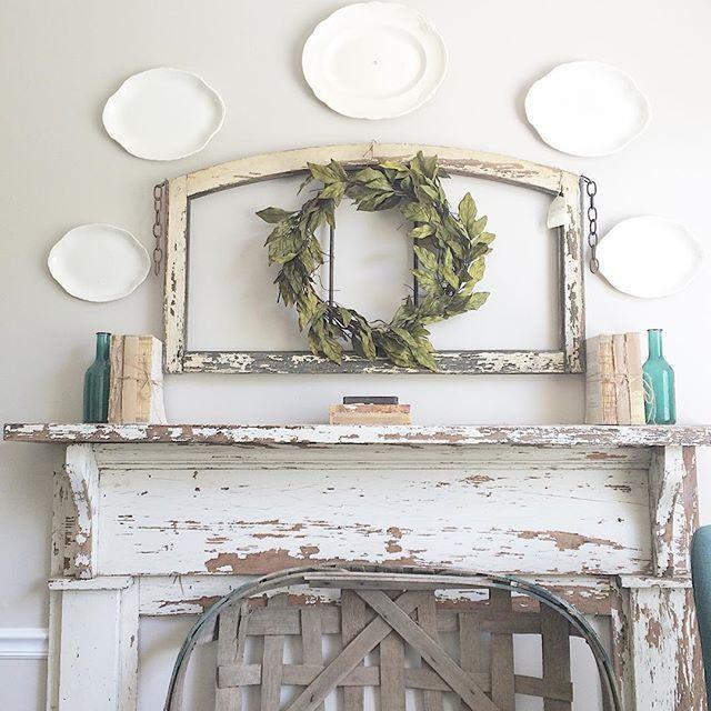 Home decor vintage ideas for mantels