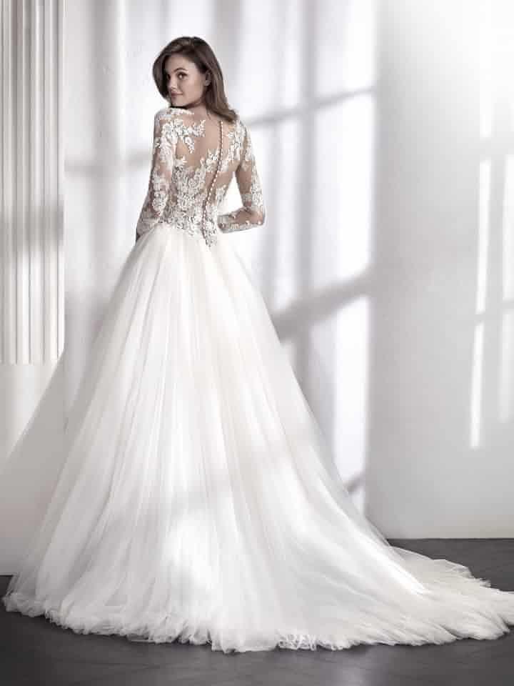 vestidos de novia st. patrick 2018: ¡líneas que encantan! | white