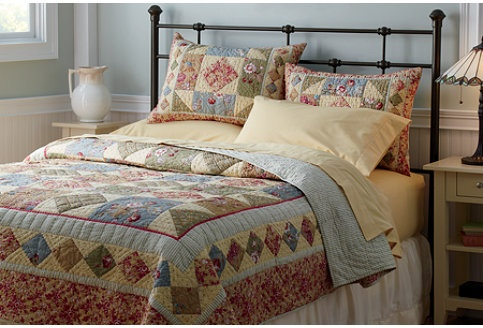Floral Quilt from LLBean