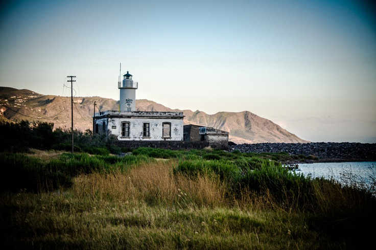 "500px / Photo ""Lighthouse at Salina, Sicily"" by Claudio Cherubino"
