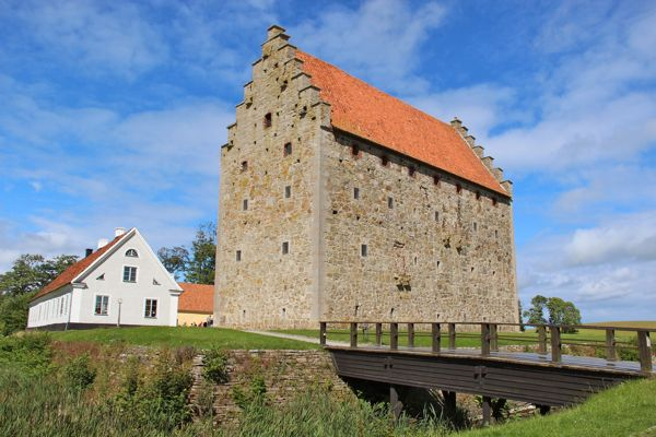 Glimmingehus, a Medieval castle, in Skane, Sweden