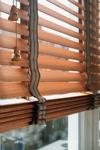 Venetian blinds – venetian blinds are one of the most popular types that are made of horizontal slats, attached one above the other. The han...: