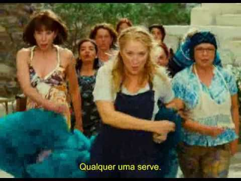 ▶ Dancing Queen - Mamma Mia -movie version. My favorite movie. I've watched this over and over.