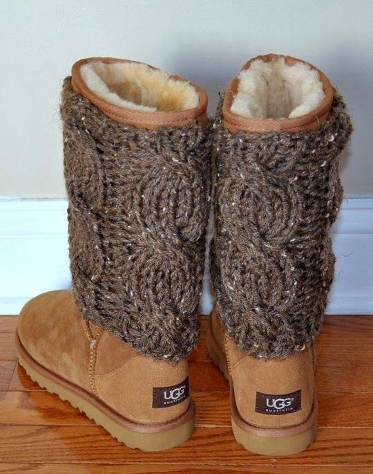 See more Cozy Ugg Boots With Leg Warmers
