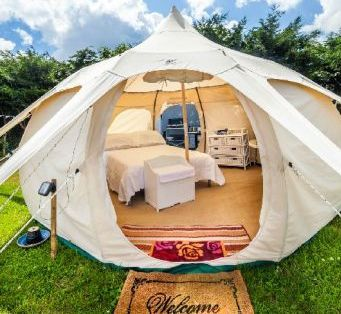 Glamping near Padstow Cornwall with Lowarth Glamping