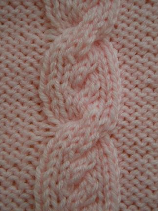 Knit Cable Stitch Pinterest : Cable knitting, Knitting stitches and Cable on Pinterest