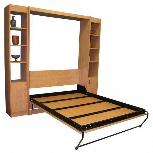 Panel Bed Diy Murphy Bed Frame Kit With Images Murphy Bed Diy