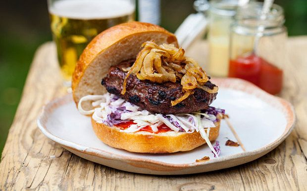 The #hamburger has taken over #France with this article reporting 80% of French restaurants serving at least one form of it. www.trynewfoods.blogspot.com