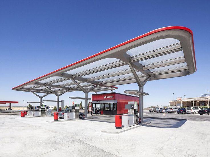 Galería - Estación de Servicio CEPSA / Saffron Brand Consultants + Malka+Portús arquitectos - 6