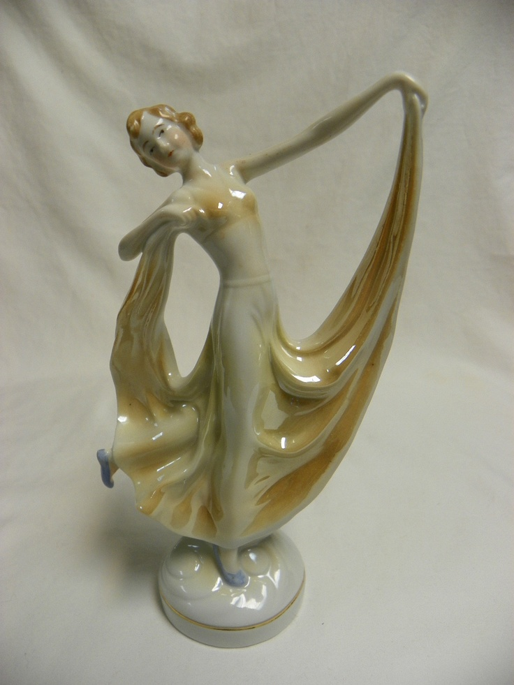 1000 Images About Art Deco Figurines On Pinterest