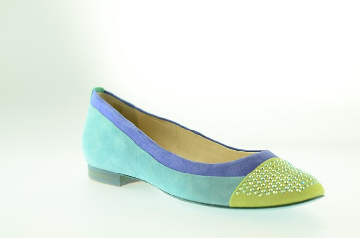 We love these Swarovski encrusted suede flats