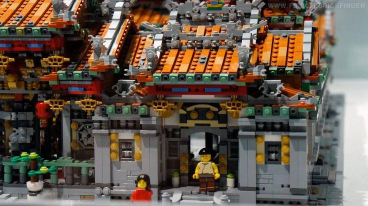 Mengjia LongShan Temple @ Lego Exhibition Peace in Piece