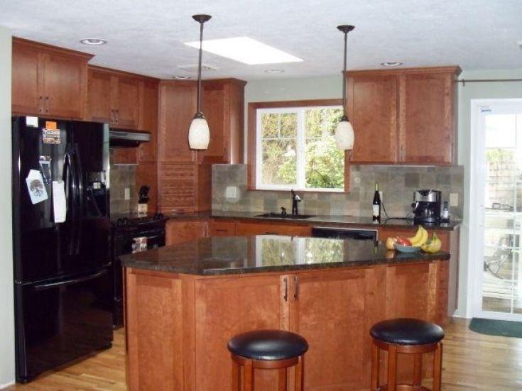 Creative 10X10 Kitchen Designs With Island  Kitchen Design Photo Inspiration 10X10 Kitchen Designs With Island Inspiration Design