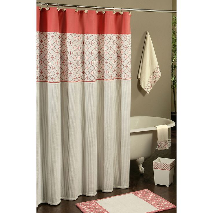 Jabots And Swags Curtains Sure Fit Shower Curtains
