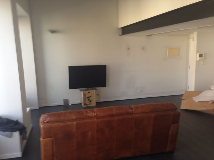Television And Wall Still To Be Built