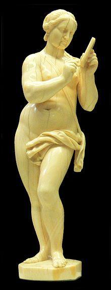 Leonhard Kern, The Muse Calliope, c. 1640, Ivory, Württemberg State Museum Stuttgart