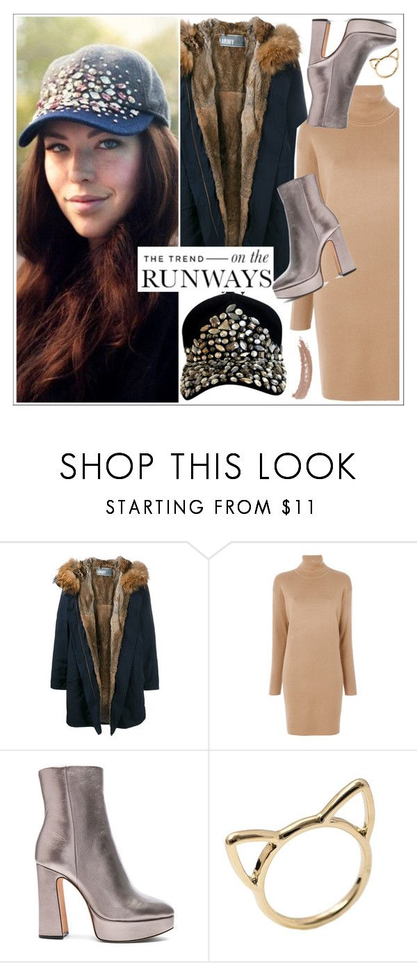 """""""The Trend-WIMNYC"""" by teoecar ❤ liked on Polyvore featuring J.Crew, Army by Yves Solomon, MICHAEL Michael Kors, Alexandre Birman and Topshop"""