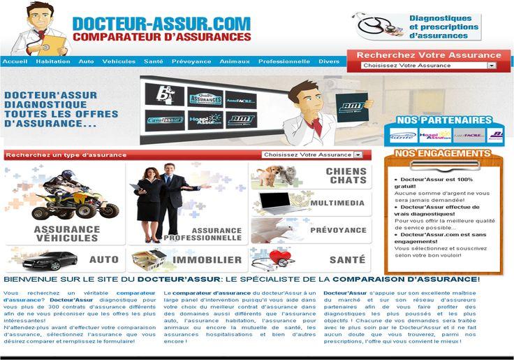 Comparateur d'assurance Assurance auto, Assurance et