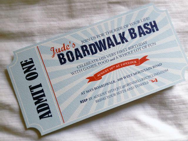 beach boardwalk party