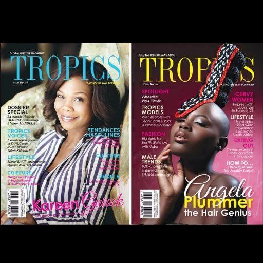 TROPICS Magazine #59 | https://issuu.com/tropicsmagazine/docs/magazine_issue_59_original_files.co/1  • #TropicsMagazine #Afrique #Africa #AngelaPlummer #KareenGuiock #Editorials #Bold #Fashion #Beauty #Covergirl #Magazine #Braids #COuture #Martinique #Caribbean #France #London #Makeup #Bald #Swagg